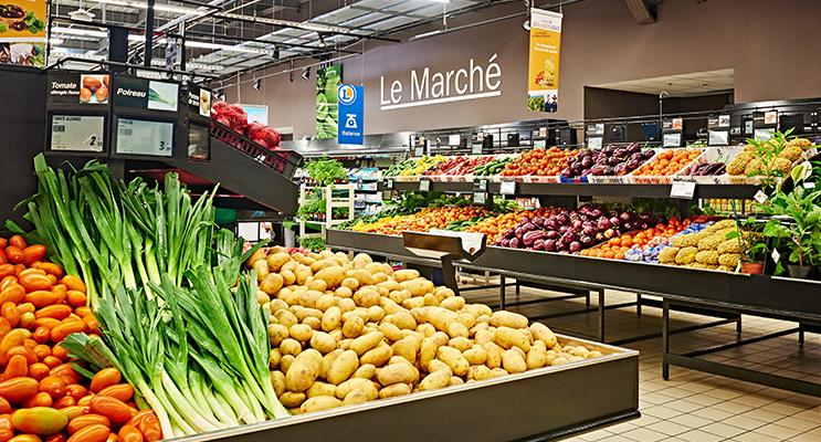 Pour ces pommes de terre, c'est directement du producteur au rayon « Marché » de votre E.Leclerc.