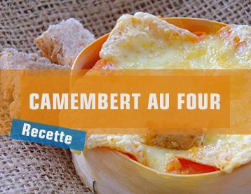 Idée recette - Camembert au four