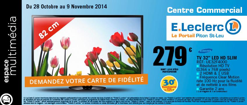 TV 32 pouces LED HD SLIM